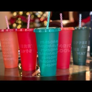 Starbucks Christmas (LE) cold cups